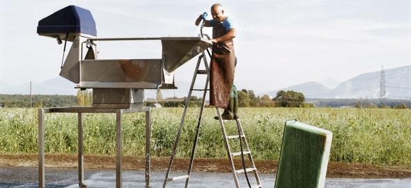 Un agriculteur genevois