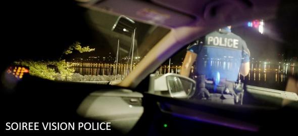 Soirée vision police