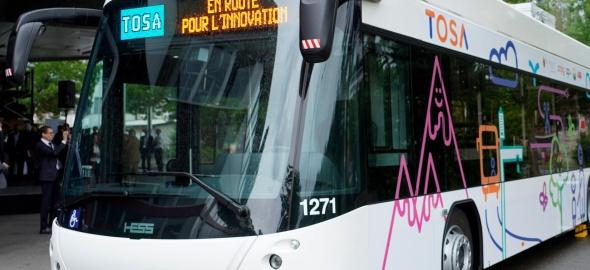 tosa - le bus électrique genevois