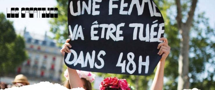slogna pendant une manifestation une femme va être tuée dans 48 heures