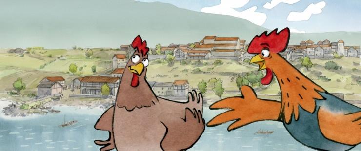 Maximus et Clotilde, personnages de Les Burgondes à Genève