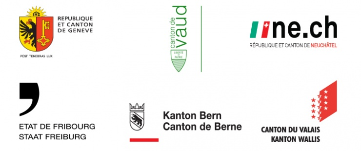 Les 6 cantons partenaires de CinéCivic