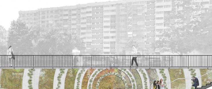 Passage sous voie de l'avenue de Châtelaine (projet)