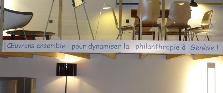 Oeuvrons ensemble pour dynamiser la philanthropie à Genève !