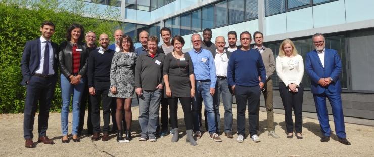 Les participants à l'atelier du 4 octobre 2017