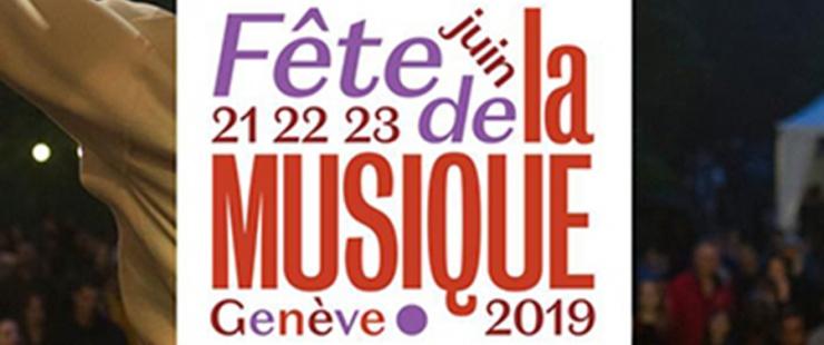 affiche de la Fête de la musique 2019