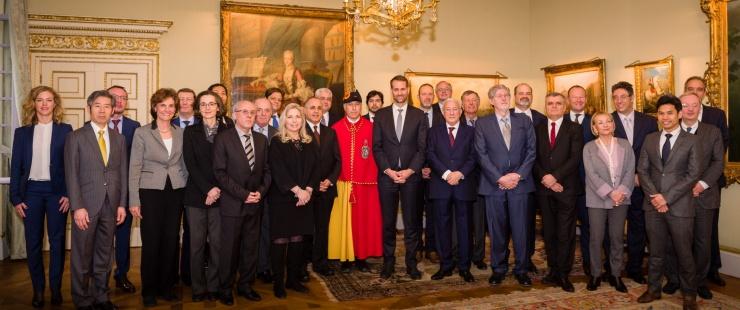 Présentation des vœux du Corps consulaire de Genève aux autorités genevoises
