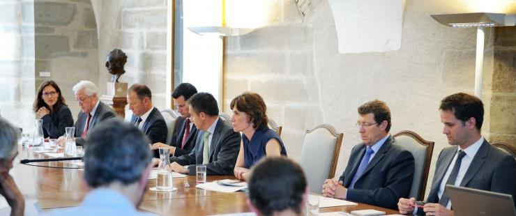 Le Conseil d'Etat au complet
