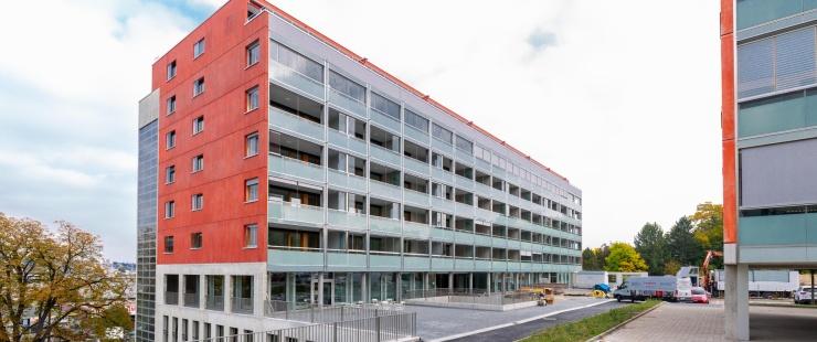 """""""Vigne-Rouge"""", ouverture à Carouge d'un nouvel immeuble avec encadrement pour personnes âgées (IEPA)"""