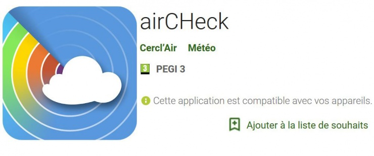 Image de l'application AirCHeck