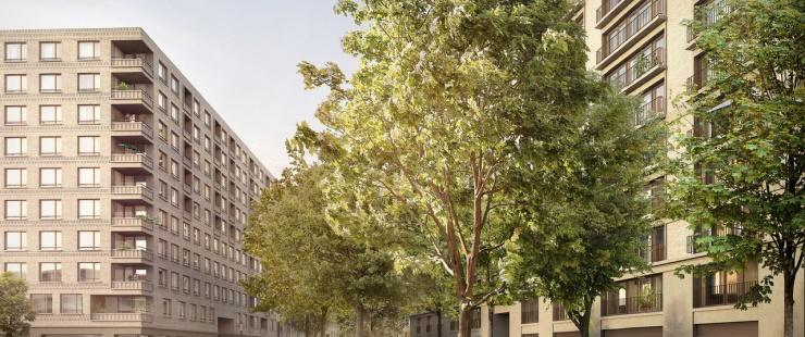 Espaces publics de quartier des Vernets