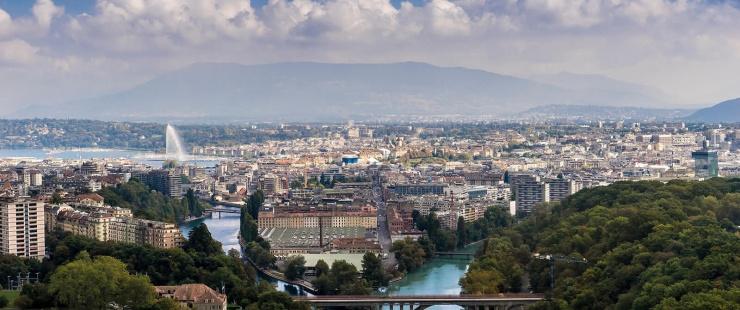 Vue Genève - quartier de la Jonction