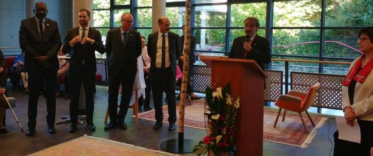 Inauguration du nouveau bâtiment de siège de la FICR