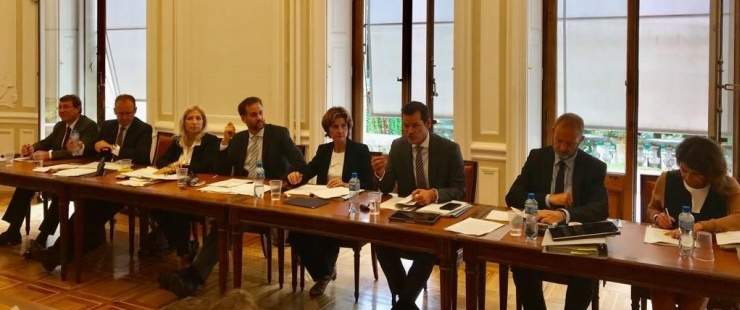 Le Conseil d'Etat in corpore le 14 septembre 2018 (Photo Chancellerie)
