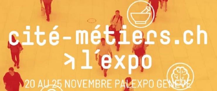 Rencontrez votre futur employeur à la Cité des métiers de Palexpo !
