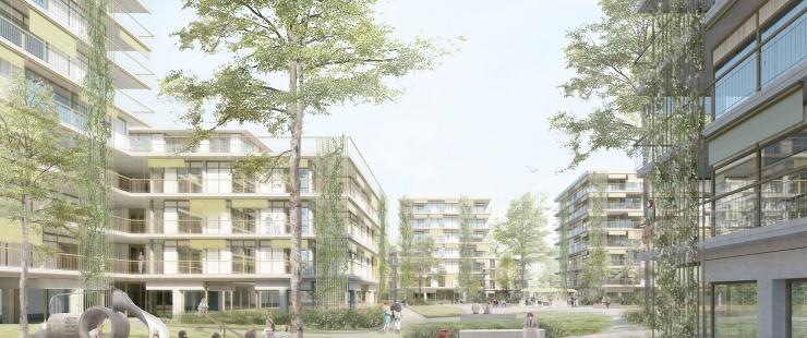 Communaux d'Ambilly -  Projet lauréat pièce A5 © Group8