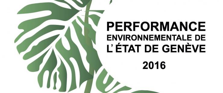 Rapport de performance environnementale de l'Etat de Genève