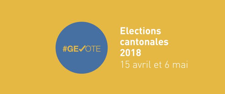 Logo des élections cantonales 2018
