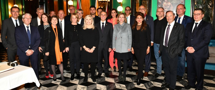 Réception en l'honneur des membres de la Commission de politique extérieure du Conseil national (CPE-N)