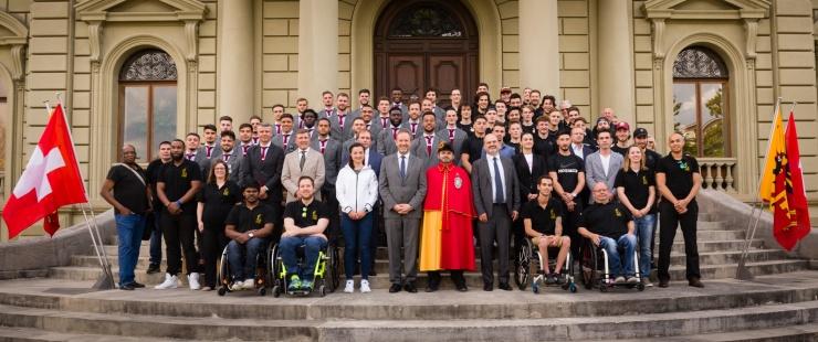 Réception en l'honneur des athlètes genevois ayant brillé durant le 1er semestre 2019