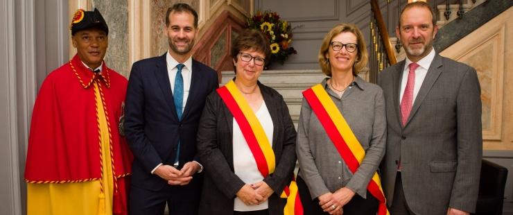 Prestation de serment de Madame Anne-Catherine Hurny Cabezas et Madame Claudine Hentsch