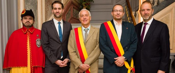 Prestation de serment de Monsieur Bernard Fracheboud, adjoint au maire de la commune de Collex-Bossy