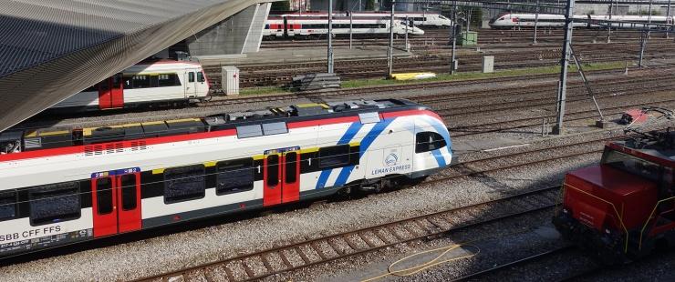 Photo train Léman Express