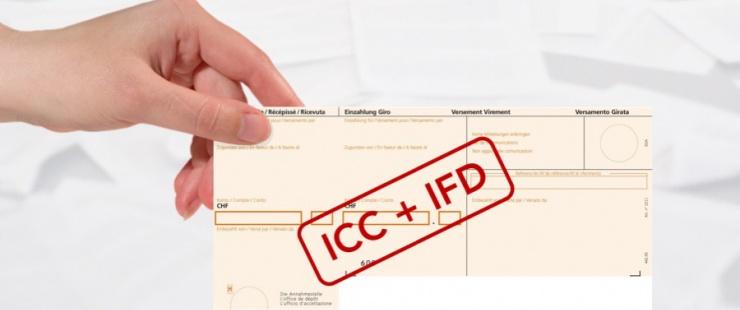 Fusion des acomptes ICC et IFD