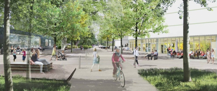 Future place du Stand (agence LMLV archites-urbanistes)