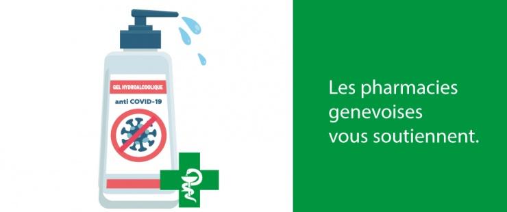 COVID-19 - Liste des pharmacies distribuant du gel hydroalcoolique gratuit
