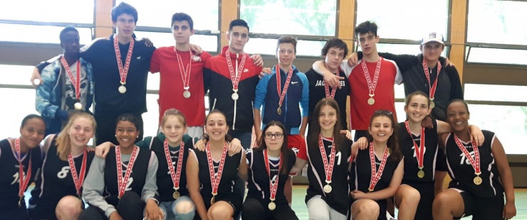 élèves du CO de la Golette à la 50e édition de la Journée de sport scolaire