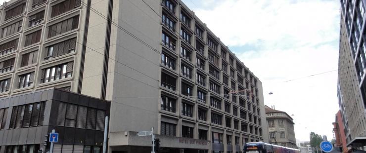 L'hôtel des finances, où siège la commission fiscale