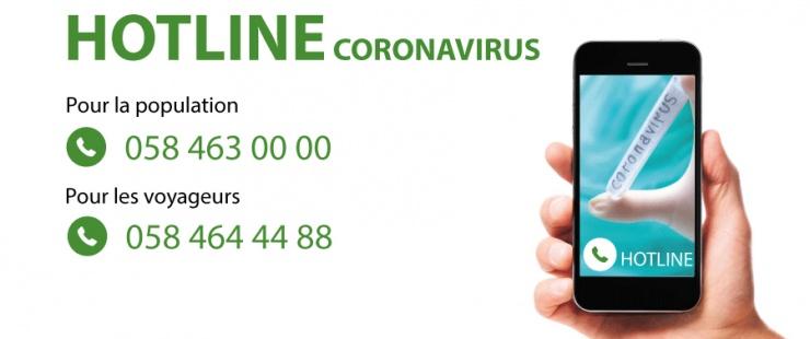 Coronavirus : une Hotline répond à vos questions