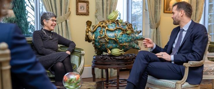 Visite de courtoisie de Madame Aelin Pérez Ramírez, Consule générale du Pérou à Genève