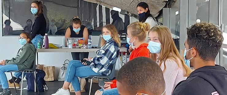 Journée participative des jeunes au Pavillon Sicli