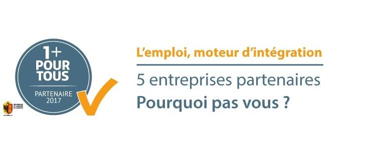 Le label 1+ pour tous compte 5 entreprises partenaires. Pourquoi pas vous ?