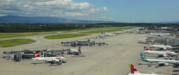 Tarmac de Genève Aéroport