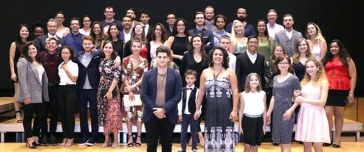 Lauréat-e-s de la maturité du Collège pour adultes Alice Rivaz