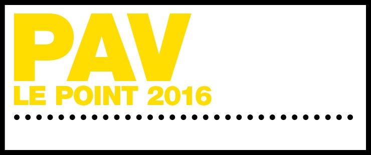 PAV Le point 2016