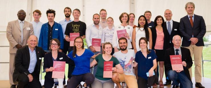 Photo lauréats concours du développement durable 2018