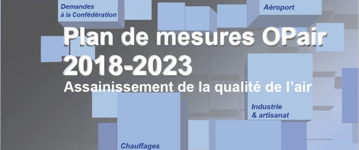 Couverture du plan de mesures OPAIR