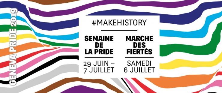 Affiche Geneva Pride 2019