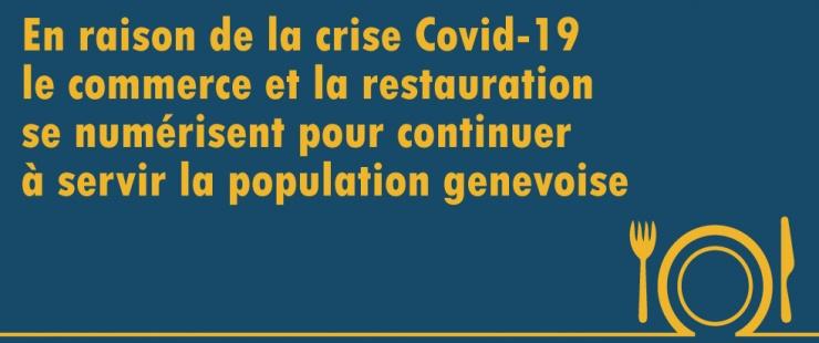 Covid-19: Numérisation et livraison à domicile des restaurants et des commerces