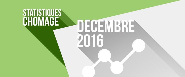 Les chiffres du chômage à Genève à fin décembre 2016
