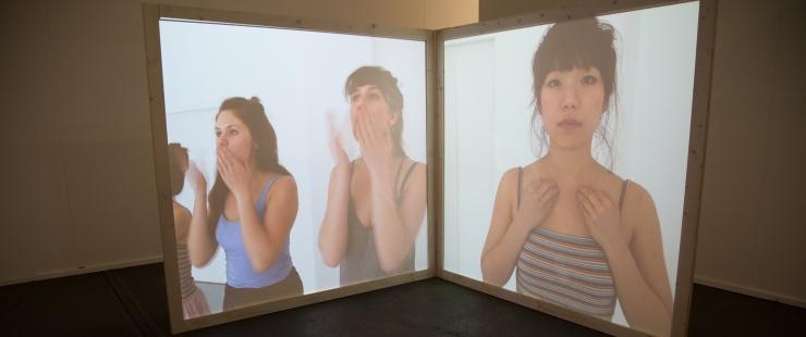 Archipelago and Tempo, installation d'Anne Sylvie Henchoz