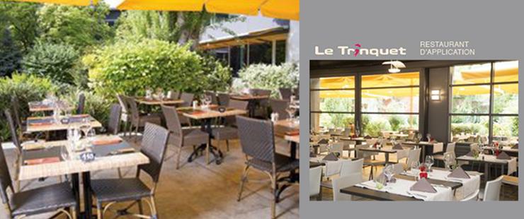 """Le restaurant d'application """"Le Trinquet"""" fête ses 5 ans sur un joli succès"""