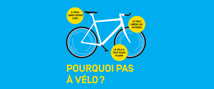 """Pourquoi pas à vélo ? Aujourd'hui, j'essaie !"""