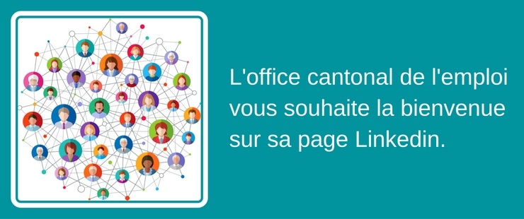 L'office cantonal de l'emploi vous souhaite la bienvenue sur sa page LinkedIn !