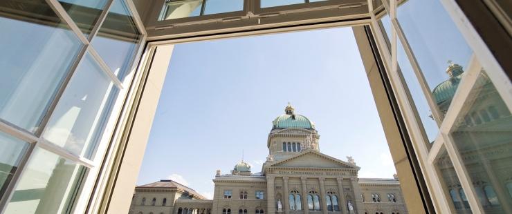 vue du palais fédéral