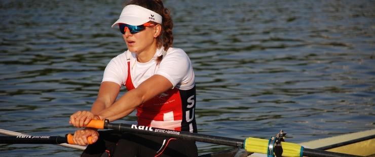 Pauline Delacroix, , membre du Team Genève